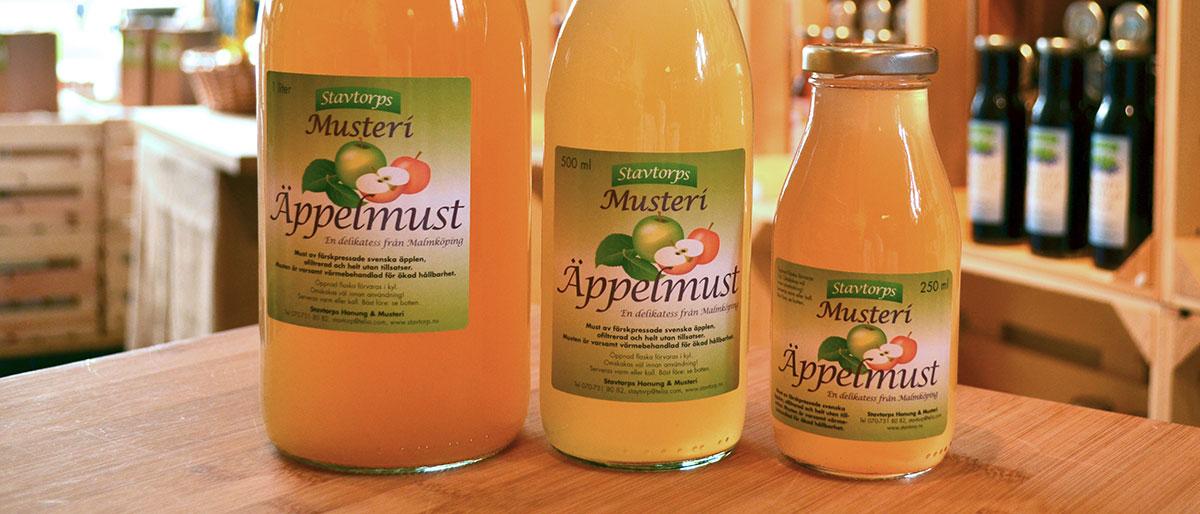 Stavtorps Äppelmust - En delikatess från Malmköping
