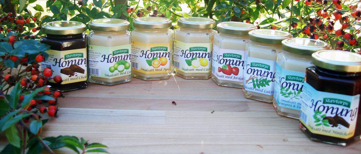 Permalänk till:Smaksatt honung